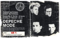 1988-02-21 Forest National, Brussels, Belgium - Ticket Stub 1.jpg